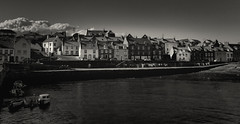 Cellardyke Harbour 2 (scrimmy) Tags: scotland fife cellardyke harbour sky sea village blackandwhite toned boats