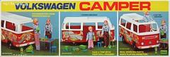 Volkswagen Camper by Empire Toys Box Pictures (hmdavid) Tags: vintage volkswagen camper 1970s toy dolls empire hippie vw bus flowerpower doll