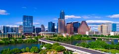Austin Texas gorgeous summer day in central Texas capital city