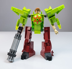 Shaggy Mech Suit (Baron Julius von Brunk) Tags: lego scooby scoobydoo shaggy shaggymeme shaggymemes mech mecha gundam brunk moc meme