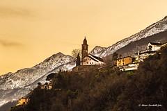Gold Sunset (BR50 3673) Tags: sunset tramonto clouds landscape paesaggi sky nubi cielo roncosopraascona ascona svizzera cantonticino canon lagomaggiore mariosacchellifoto