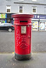 Post Box, Corner of Oxford Street and Bridge Street, Glasgow (Joe Son of the Rock) Tags: postbox pillarbox letterbox bridgestreet oxfordstreet postoffice shop spar glasgow