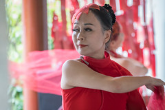 Chinese dancer (andrew.chong7779) Tags: dancer dancing ladyinred