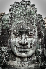 Yo Mama (Cédric Nitseg) Tags: femme nikon asie siemreap people fille bayon greelow personne travelling backpacking backpacker travel asia cambodge face voyage d7000 human temple cambodia