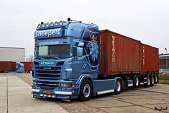 """Scania R II Topline """" SNEEPELS S.T.L. """" (NL) (magicv8m) Tags: scania r ii topline sneepelsstl nl tir trans transport lkw"""