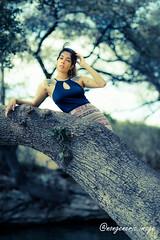 Neeha_0020 (Eric Durham) Tags: outdoor portrait naturallight austin texas atx model photoshoot canon eosr ef85mmf14lis nature greenbelt park tatoo tree cedarpark atxphotographer texasphotographer