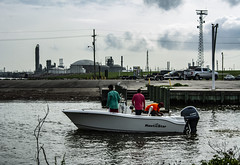 (jfre81) Tags: texas city dike tx tex water boat launch pier fishing landscape skyscape refinery plants industrial james fremont photography jfre81 canon rebel xs