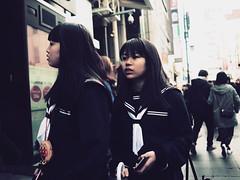 A Girl! (takana1964) Tags: streetphotography snap streetsnap street snapshot streetshot citysnap citystreet city cityphotography olympus osakacity japan