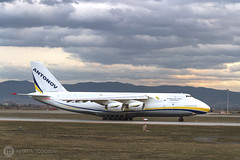 An-124 LBSF Takeoff (feverpictures) Tags: ruslan an124 antonov takeoff golden landing airport aircraft cargo runway sofia airborne