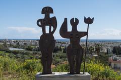 Mouttallos Sculpture (syf22) Tags: paphos paphosdistrict mouttalos cyprus mouttalosdistrict steel construction art artwork artistry modern design cutting sculpture