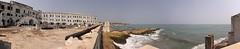 Cape Coast Castle, Ghana (inyathi) Tags: westafrica ghana capecoastcastle castles forts fortresses slavery slaves slavetrade tawnyeagle aquilarapax africa