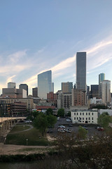 609 Main at Texas 03272019 Early Sunset (Mabry Campbell) Tags: iphone 2019 march houston texas downtown skyline harriscounty pickardchilton hines usa