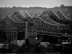 Ohio River / Cincinnati 2019 (STREET MASTER) Tags: cincinnatiohio ohio graffiti bridge nightphotography night downtown ghost sign brook