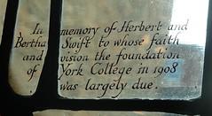 [73655] York : Merchant Adventurers' Hall - Annunciation Window (Budby) Tags: york northyorkshire hall guild gild window stainedglass