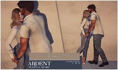 Ardent Poses - Home Ad (Ardent Poses) Tags: secondlife second life sl avatar 2nd 2ndlife avi virtual vr 3d inworld poses pose ardent photography people exclusive avatars event love couple couples release new hold broderick logan ena roane enaroane bento advertisement sidewalk sale ardentposes