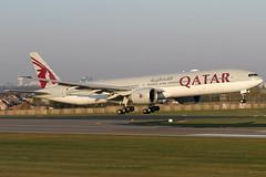 A7-BAK 11042019 (Tristar1011) Tags: ebbr bru brusselsairport qatarairways boeing 777300er b773 a7bak