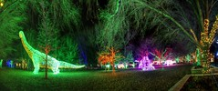 Welcome to River of Lights (JoelDeluxe) Tags: rol riveroflights abq biopark nm december 2018 albuquerque biological park pnm light display colors lights sculptures fantasy newmexico hdr joeldeluxe