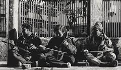 When music Lures everyone, just like sugar lure ants. (nitishsahumohan) Tags: streetphotography street photography natural blackwhite blackandwhite story amazing portrait music