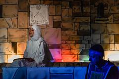 _DSC0517 (Carlo Granisso) Tags: musical church chiesa teatro theatre actor actress jesus sanfrancesco piece mask forzavenitegente maddalena altare animals animali ballo dancing bw blackandwhite torino turin nikon d7500 nikond7500