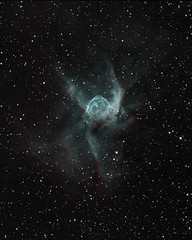 Thor's Helmet in bicolour (whale05) Tags: stars science astrometrydotnet:id=nova3144512 astrometrydotnet:status=solved