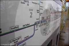 Manchester Metrolink Map (Mike McNiven) Tags: manchester metrolink tram metro barlowmoorroad airportline chorlton map wayfinding network