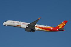 Hong Kong Airlines A350-941 (B-LGH) LAX Takeoff 3 (hsckcwong) Tags: hongkongairlines a350941 a350900 a350 airbusa350 blgh lax klax
