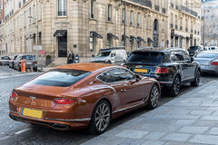 Bentley Continental GT (Alexandre Prévot) Tags: paris voiture european cars automotive automobile exotics exotic supercars supercar worldcars france 75 75000 auto car berline sport route transport déplacement parking luxe grandestsupercars ges
