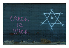 Wacko (TooLoose-LeTrek) Tags: detroit graffiti drugs crack