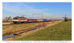 Railexperts 9901 Alpen Express - Lisse (CC72080) Tags: 9901 railexperts alpen express alpenexpress train zug locomotive lisse
