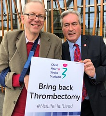 Backing Bring Back Thrombectomy campaign