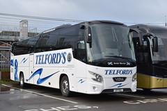 X7TCL  ''Border Warrior''  Telfords Coaches, Newcastleton (highlandreiver) Tags: x7tcl x7 tcl telfords coaches newcastleton vdl futura 2 bus coach carlisle cumbria