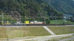 Sersa Am 843 153 Gotthard Base Tunnel North Portal Erstfeld 16 July 2015 (3) (BaggieWeave) Tags: switzerland swiss swissrailways swisstrains erstfeld gotthardrailway gotthard gotthardbahn sbb cff ffs gbt gotthardbasetunnel am843