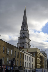 070 Christ Church Spitalfields Anglican church built between 1714 and 1729 to a design by Nicholas Hawksmoor Commercial Street London (photographer695) Tags: commercial street london spitalfilds christ church spitalfields anglican built between 1714 1729 design by nicholas hawksmoor