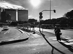 """Sunset In The City"" (giannipaoloziliani) Tags: raw street downtown brignole luce ombre capturestreets capture tramonto urbanstreet urbanexplorer streetlife streetphotography flickr biancoenero liguria lightandshadow monocromatico iphonephotography iphone genova sunset genoa blackandwhite"
