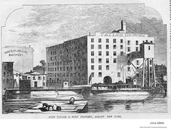 1840s john taylor brewery  on the Hudson River. (albany group archive) Tags: old albany ny vintage photos picture photo photograph history historic historical
