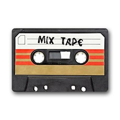 Retro Mix Tape Cassette Welcome Doormat (mywowstuff) Tags: gifts gadgets cool family friends funny shopping men women kids home
