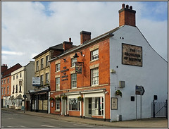 The Shoulder of Mutton, Ashby de la Zouch (Jason 87030) Tags: market st street leics leicestershire ashbydelazouch wetaherspoons pub inn boozer scene uk buildings architecture england february 2019 sony ilce alpha roadside english shoulder mutton publichouse