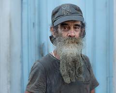 Portrait of one of locals in Old Havana (dwb838) Tags: 8x10 havana portrait