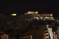 Acropolis by night (Konstantinos Farsalinos) Tags: acropolis parthenon athens greece night long exposure longexposure lights cityscape architecture history