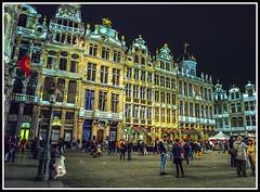 Paseando por Bélgica (edomingo) Tags: edomingo olympusomdem5 mzuiko1240 bruselas bélgicagrandplace arquitectura nocturnas paisesbajos