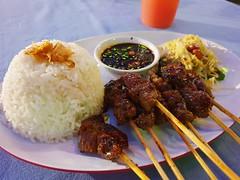 Beef Satay of Bali (stardex2.0) Tags: satay beef beefsatay rice food yummy bali indonesia