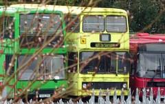 Blackburn (Andrew Stopford) Tags: y668dra dennis trident eastlancs lolyne nottinghamcitytransport f262ytj leyland olympian northerncounties palatine po51mty volvo b10ble wright renown transdev lancashireunited district intack blackburn harrogatedistrict merseybus arriva