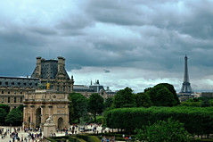 Paris summed up in a photo (Valantis Antoniades) Tags: paris summed up photo france landmarks louvre eiffel tower orsay museum