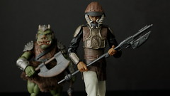 star wars lando calrissian gamorrean guard ROJ IMG_8673 (2) (Hannaford) Tags: hasbro actionfigure starwars rotj returnofthejedi blackseries exclusive gamorreanguard landocalrissian skiffguard disguise