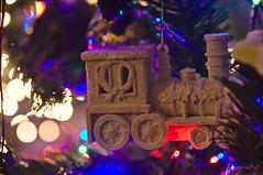 IMG_5808 (Jan van de Rijt) Tags: tamronspaf2875mmf28xrdildasphericalif canoneos50d christmas kerst kerstmis kerstboom kerstbal ornament train bokeh