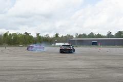 Drifting Together (Find The Apex) Tags: nolamotorsportspark nodrft drifting drift cars automotive automotivephotography nikon d800 nikond800 tandemdrift tandem tandemdrifting tandembattle nissan 240sx nissan240sx s13 s14