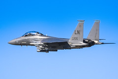 LN AF 98 205 (cjf3 - f15tog) Tags: f15e 48thfighterwinglakenheath 492dfightersquadron usaf usaflakenheath crew bluesky nato topgun fastjet canon 7dmk2