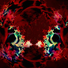 phantasiare... (Mark Noack) Tags: light color photoshop layer layering surreal expressionism abstract psychedelic futurist abstraction