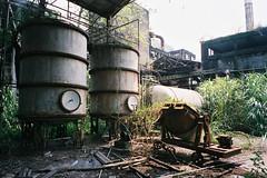 CNV000011 (雅布 重) Tags: fujifilm silvif28 xtra400 film 2016 snap ruins taiwan 廢墟