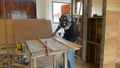 carpenter man use a circular saw table for cut wood plank (SawAdvisor) Tags: circular saw woodworking carpenter cutting circularsaw